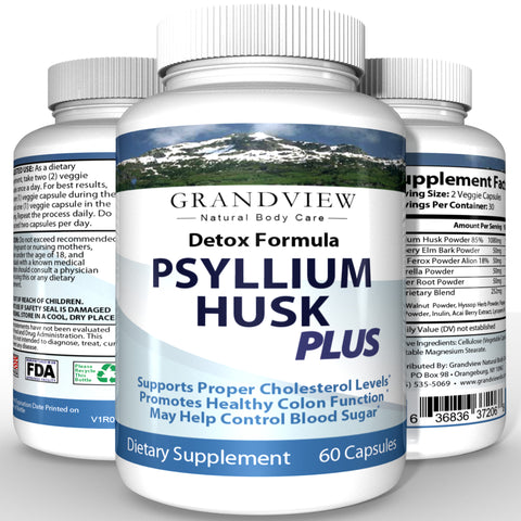 Image of Psyllium Husk Plus -  Psyllium Husk Plus - Support athletic performance,  Aids in Joint Comfort, Assist in cleansing the body of toxins by free-radical scavenging, Aiding in weight loss.