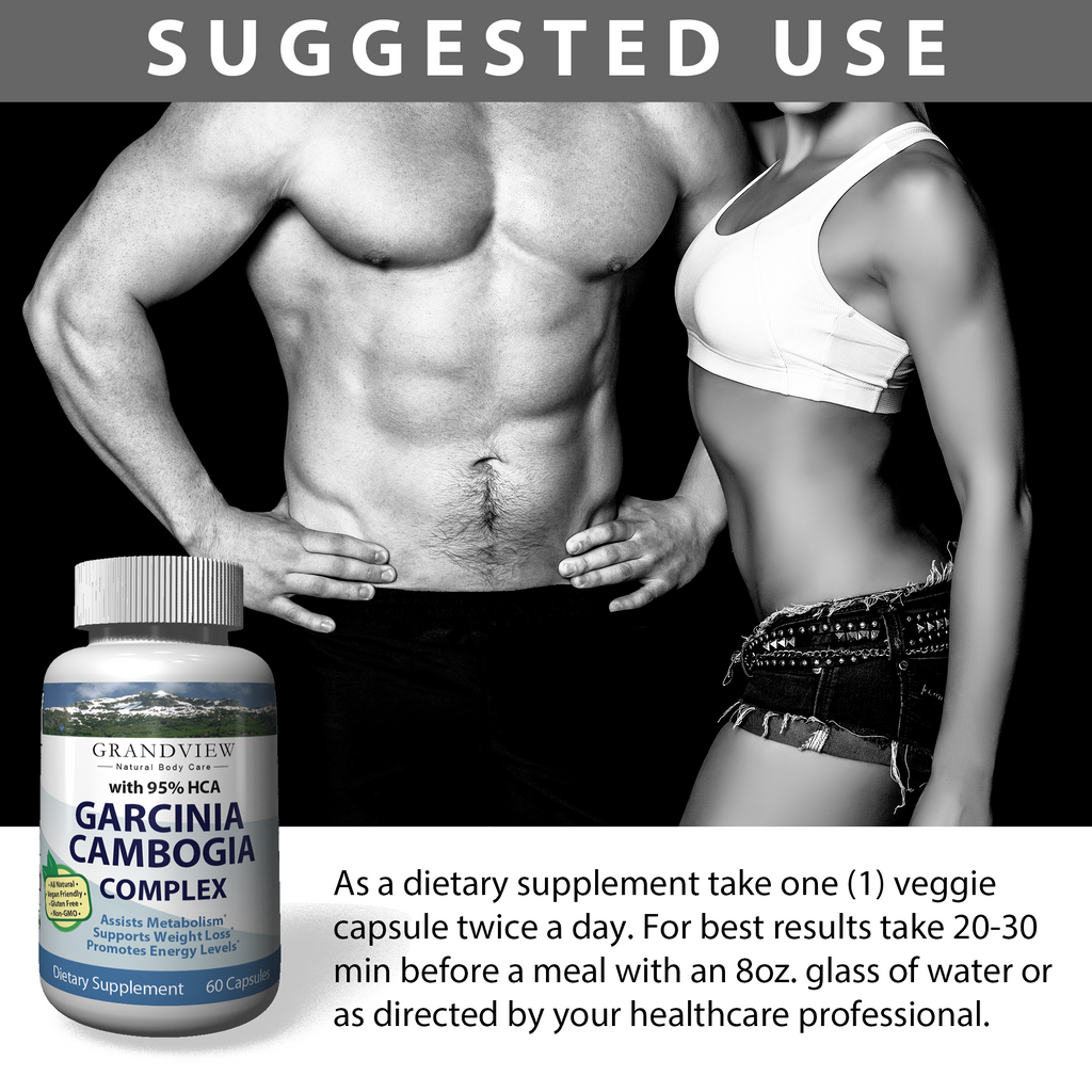 Garcinia Cambogia Extract 95 Hca Natural Appetite Suppressant