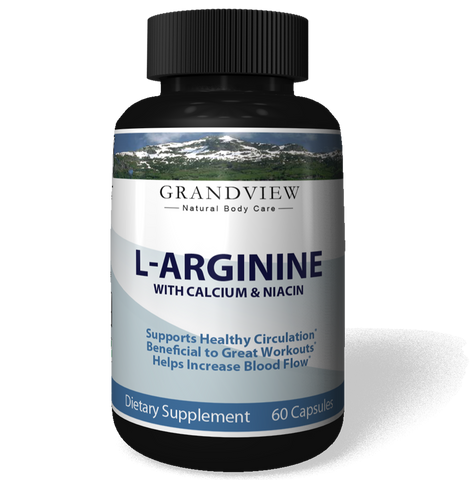 Image of L-Arginine Workout Booster Helps Regulate Blood Pressure Promotes Healthy Kidney Function Boost Energy for Great Workouts Enhances Male Performance with L-Arginine - 60 Capsules