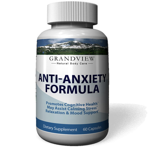 Image of Natural Anxiety Formula & Stress Support Supplement - All-Natural Ingredients That Helps Manage Stress And Soothe The Mind, Boosts Serotonin To Keep You Calm And Happy