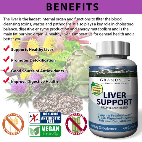 Image of Liver Care Advanced Formula With Milk Thistle, Artichoke And Turmeric - Natural Liver Health Support & Protection For Optimal Function