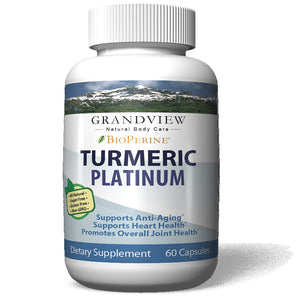 Platinum Turmeric Powerful Anti-Inflammatory Promotes Healthy Digestion Regulates Metabolism Weight Loss Helps Maintain Healthy Blood Pressure