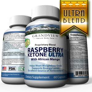 Raspberry Ketone Ultra 600mg – Can aid in increasing the breakdown of lipids contained within fat cells and raising the body's temperature to assist in fat loss. In addition to being a good source of fiber, Easy to swallow capsule. 60 Caps