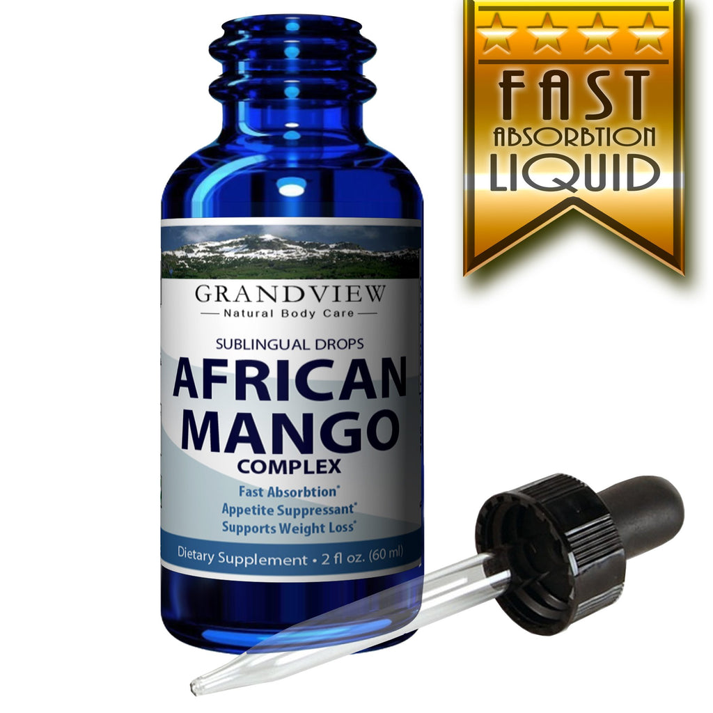 African Mango Drops 2fl Oz Natural Complex For Healthy Weight