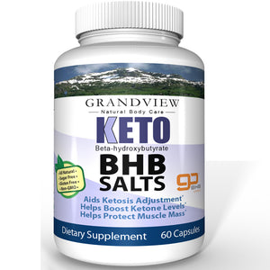 KETO BHB Salts - Supports ketosis. Fuels Body and Mind. Fights Oxidative Stress. Increases energy. Boosts Ketone Levels.