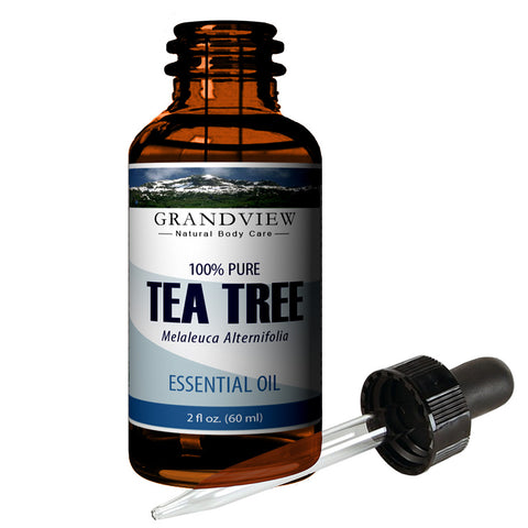 Tea Tree Oil - Moisturizes dry skin. Calms Irritation. Combats oiliness. Soothes itchiness. Promotes clear skin.