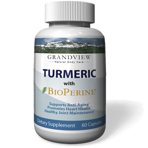 Turmeric Curcumin with BioPerine® Powerful Anti-Inflammatory Promotes Digestion Regulates Metabolism Maintain Healthy Blood Pressure