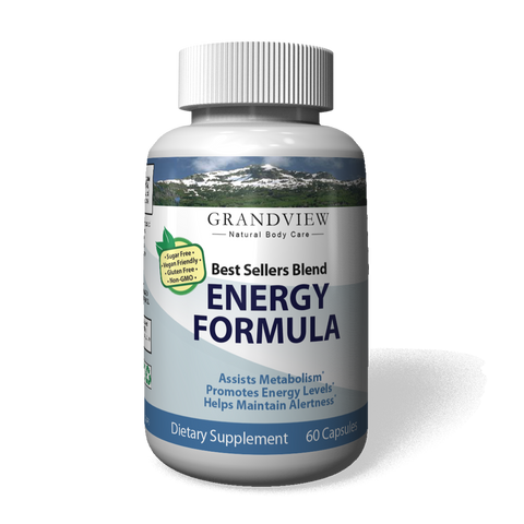 Image of Best Sellers Blend Energy Formula. Promotes Fat Cell Breakdown Suppresses Appetite Boost Metabolism Enhances Weight Loss Increases Energy 60 servings