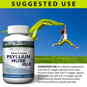 Psyllium Husk Plus -  Psyllium Husk Plus - Support athletic performance,  Aids in Joint Comfort, Assist in cleansing the body of toxins by free-radical scavenging, Aiding in weight loss.