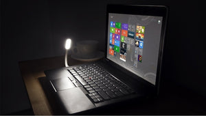 USB to LED light for laptop keyboard lighting