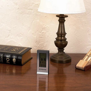 indoor thermometer clock and calendar