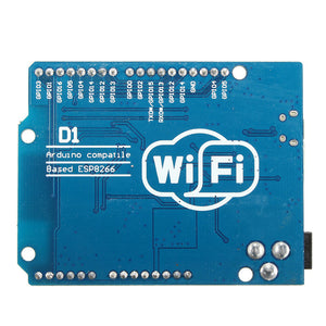 Arduino WiFi micro-controller development board bottom view