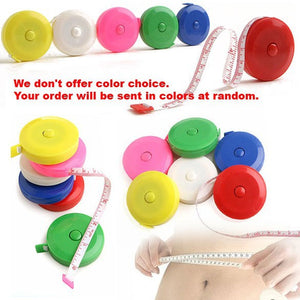 150CM Roulette Measuring Tape Measure Retractable Colorful Portable Ruler Centimeter/inch