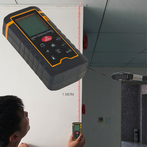 Laser Distance Meter Level Range Finder Rangefinder Tape Measure Area/Volume Tool