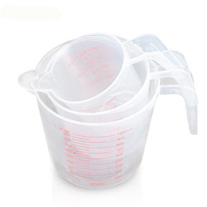 250/500/1000 ml Measuring Cups stacked