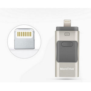 For iphone OTG Usb Flash Drive Pen drive for iphone storage usb stick 5 5S 6 6S 32GB 16GB