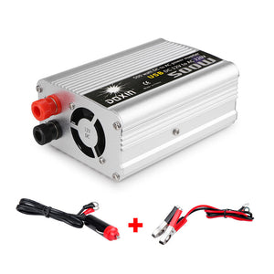 12 volt to 220 volt inverter 500 watts with 2 DC cables