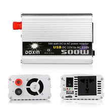 12 volt to 220 volt inverter 500 watts in 3 angles
