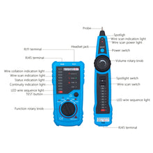 Wire tone tracer and Ethernet tester tools features