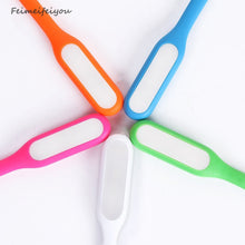 USB LED light pink orange blue green white