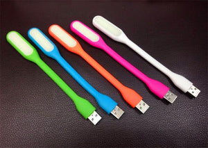 USB to LED light pink orange blue green white