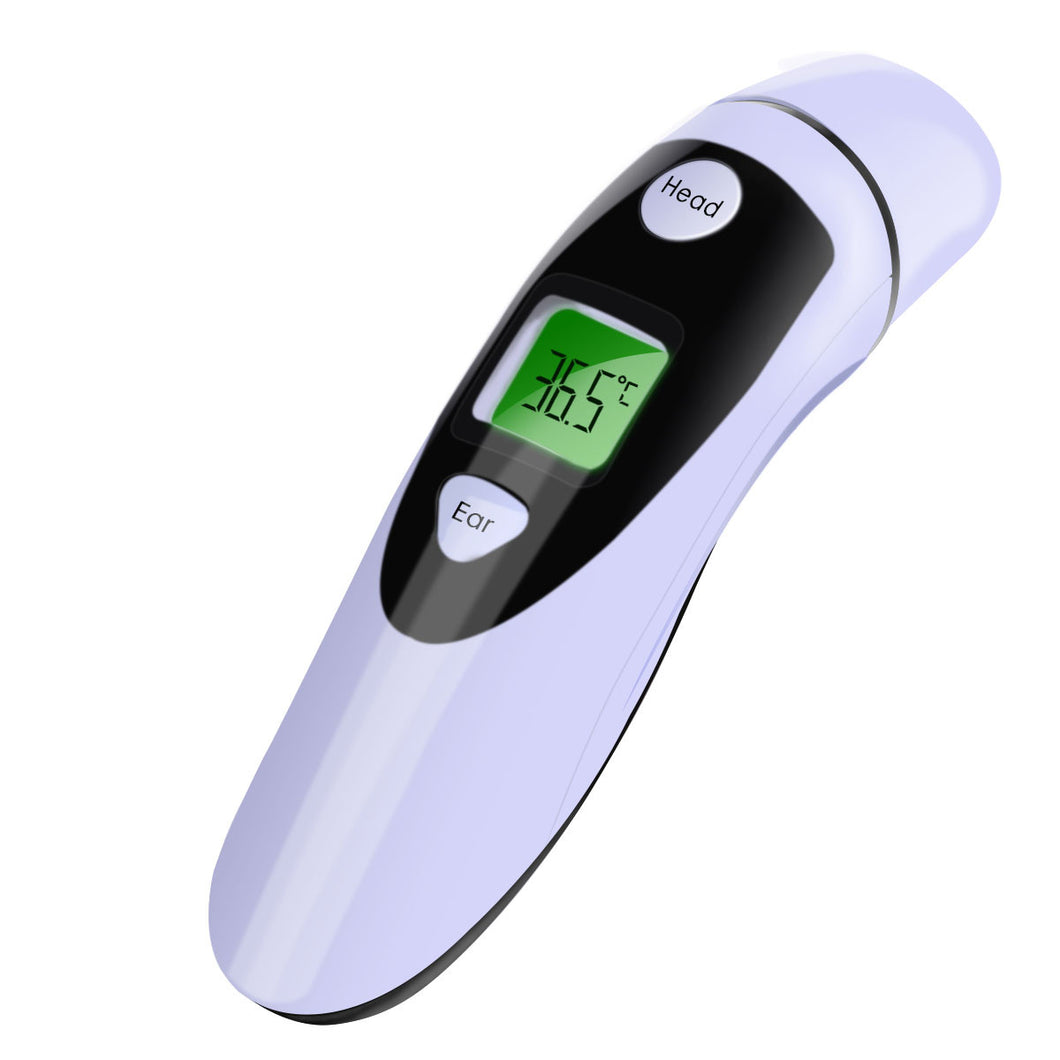 Digital LCD Infrared Forehead and Ear Thermometer
