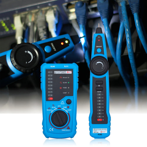 Wire tone tracer and Ethernet tester tools