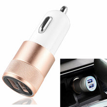 Powstro Aluminium 3.1A Car Charger Dual USB 2.1A 1A Universal For Android iPhone Tablet Mobile
