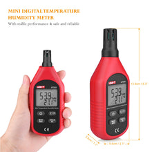 Digital Humidity and Temperature Meter Thermometer Hygrometer ℃/℉ -10~60℃ 0-100.0%RH