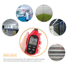 Digital Humidity and Temperature Meter application in agriculture, science, indoor environments