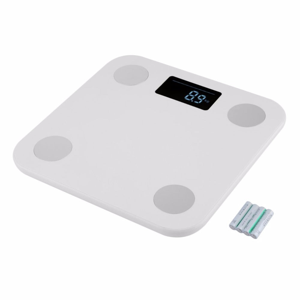 body scales with body fat sensors