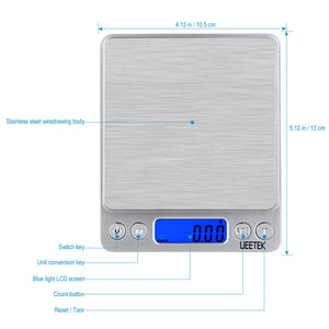 500 gram precision scales features