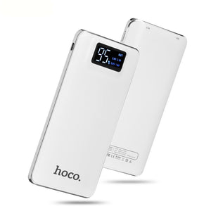 Portable Power Bank 10000 mAh Dual USB white