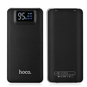 Portable Power Bank 10000 mAh Dual USB black