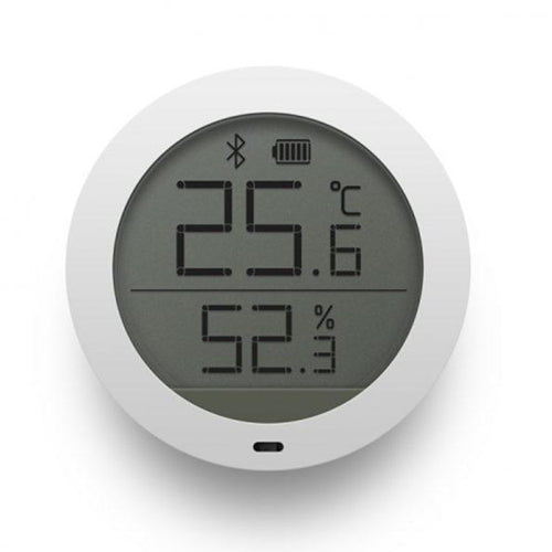Bluetooth indoor temperature and humidity sensor with LCD display