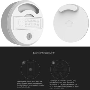 Original Xiaomi Mijia Bluetooth Temperature Humidity Sensor LCD Screen Digital Thermometer Moisture Meter Smart Mi Home APP