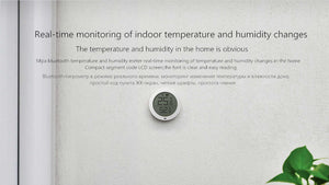 Home Bluetooth indoor temperature and humidity sensor with LCD display