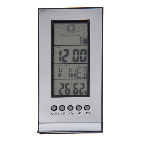 indoor thermometer and clock