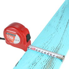 red 10 metre measuring tape