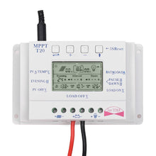 solar controller, battery charger and load controller with LCD timer