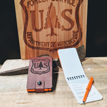 USFS Notepad Wallet Kit