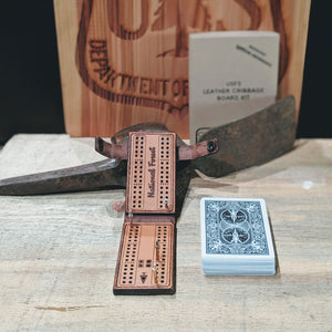 USFS Cribbage Board Kit