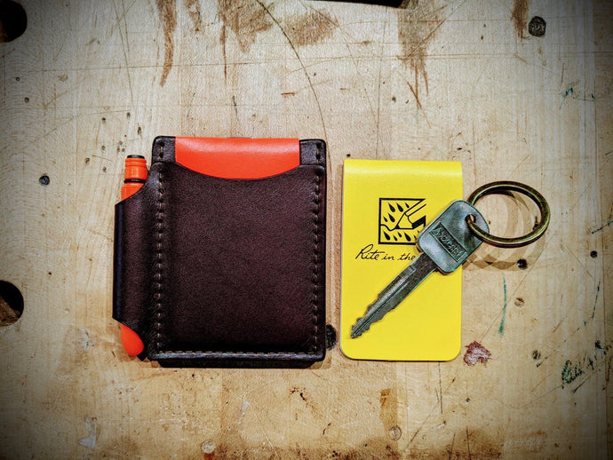 CCPP Essentials Wallet (cards, cash, paper, pen)