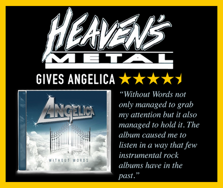 Heaven's Metal Gives Angelica Without Words 4.5 Start