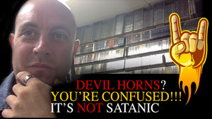 "The Devil Horns Are Not ""Of The Devil"" or Satanic"