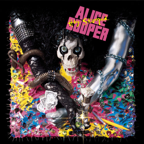 ALICE COOPER - HEY STOOPID (*NEW-CD, 2008, Warner) Amazing classic rock!