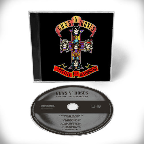 Guns and Roses - Appetite For Destruction (CD)