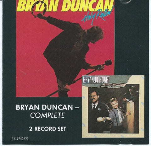 Bryan Duncan - Holy Rollin'/Have Yourself Committed (Double CD) pre-owned.