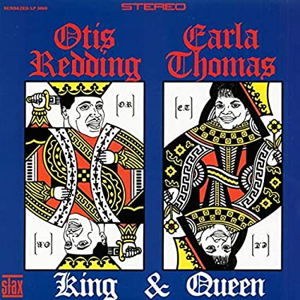 Otis Redding Carla Thomas - King and Queen (vinyl) STAX S716, 1967 VG++