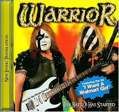Warrior - The Battle Has Started (CD)